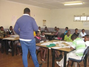 School support mentor training peer educators